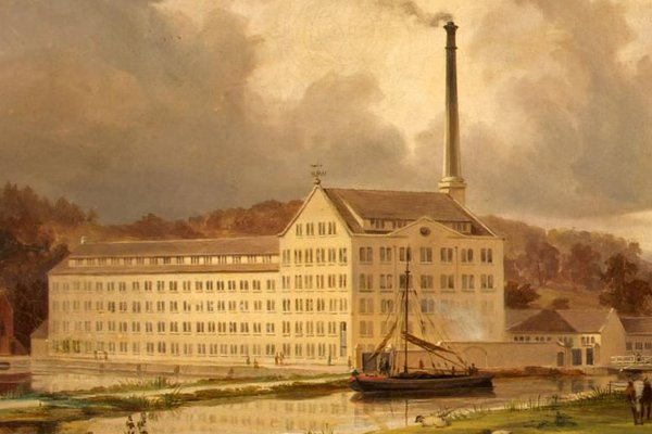 Photo of Ebley Mill Painting